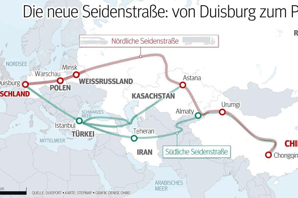 Duisburg will eine Anbindung zum Pazifik - Duisburg - derwesten.de