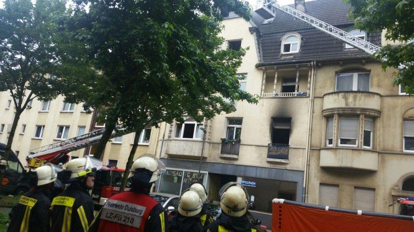 Duisburger Polizei: Feuer in Bruckhausen war Brandstiftung ...