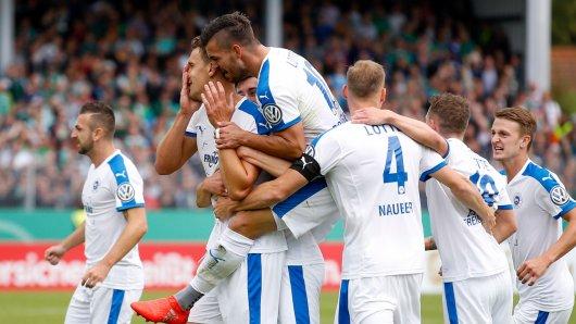 Sportfreunde Lotte v SV Werder Bremen - DFB Cup