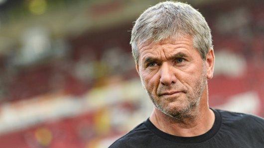 Fortuna Düsseldorfs Trainer Friedhelm Funkel