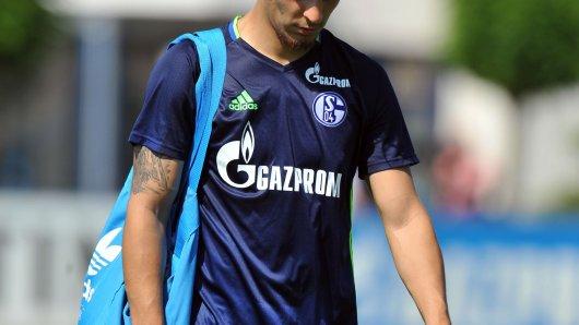Training FC Schalke in Gelsenkirchen