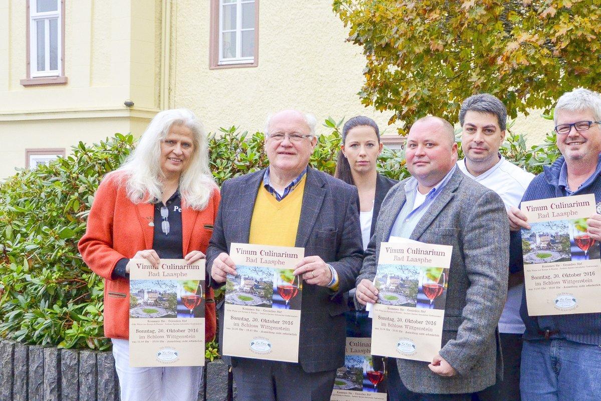 Internationale Winzer Auf Schloss Wittgenstein Nachrichten Aus Bad