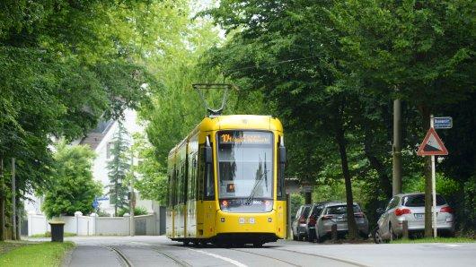 """Am 3. Dezember wird die 103 den ganzen Tag zwischen den Haltestellen """"MH-Stadtmitte"""" und """"MH-Hauptfriedhof"""" nicht fahren."""