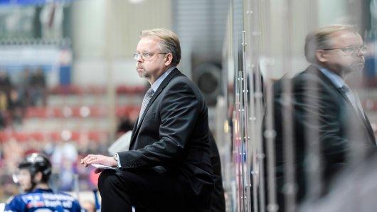 Eishockey Iserlohn Roosters gegen Schwenningen Wild Wings.