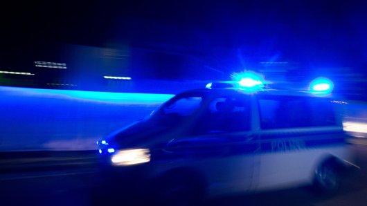Die Polizei musste in Frankfurt mit 40 Beamten ausrücken.