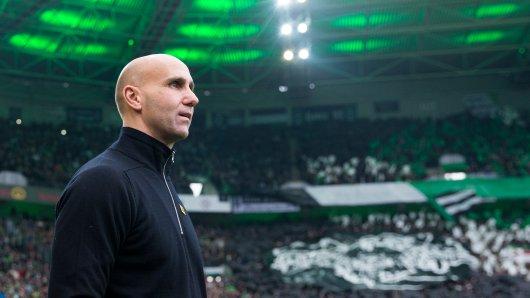 Trainer André Schubert von Borussia Mönchengladbach