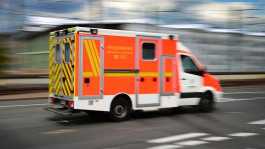 Rettungswagen der Feuerwehr Mülheim