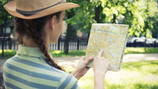 Landkarte, Straßenkarte, Adresse