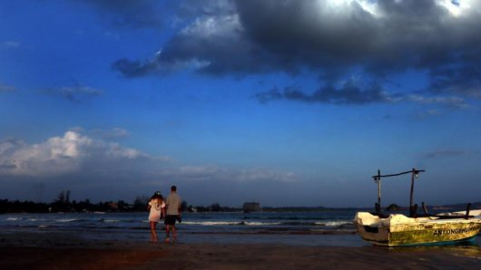 Mehr als nur ein Zwischenstopp:Deutsche Urlauber verweilen inzwischen wieder länger inSri Lanka.