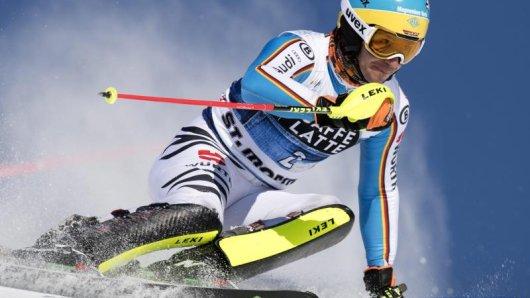 Der deutsche Skistar Felix Neureuther war auch 2016 inSt. Moritz bei der WMdabei.