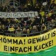 BVB-Fans setzen ein Zeichen gegen Gewalt