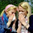 Elena Simon und Mara Friedrich wissen es bereits: Die Pollen geben wieder Vollgas.