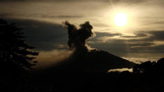 Vulkan Turrialba ist wieder aktiv.