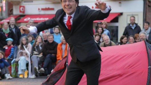Straßenkünstler aus ganz Europa präsentieren auch in diesemJahr ihre Vorführungen beim Internationalen Festival der Straßenkünste in Bremen.