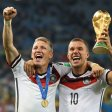 Bastian Schweinsteiger und Lukas Podolski feierten 2014 mit dem WM-Titel den größten Erfolg ihrer Karriere.