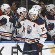 Leon Draisaitl und die Edmonton Oilers besiegten die Calgary Flames mit 7:5.