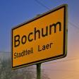 Ortstafel von Bochum-Laer.