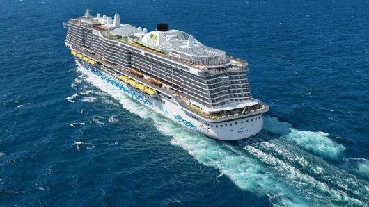 Bald im Mittelmeer unterwegs: Die neue Aida Nova von Aida Cruises.