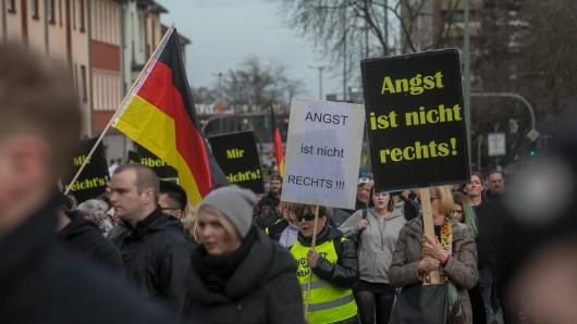 """In Bottrop fand bereits im März eine Demonstration unter dem Titel """"Mütter gegen Gewalt statt""""."""
