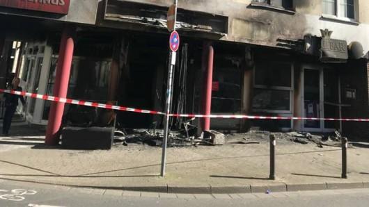 An der Hochstraße in Gelsenkirchen hat es am Wochenende einen verheerenden Brand gegeben.