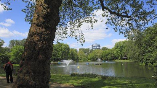Die Stadt Dortmund warnt aktuell davor, Teile des Fredenbaumparks in Dortmund zu betreten.