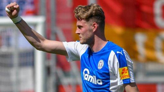Trotz des verpassten Aufstiegs könnte Marvin Ducksch in der kommenden Saison Bundesliga spielen.