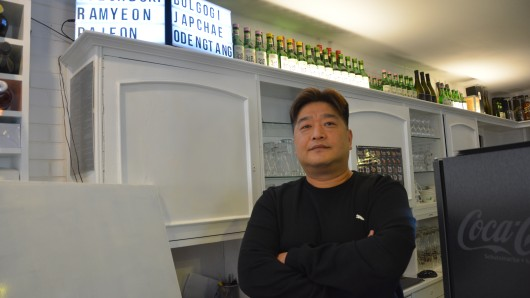 Koang-Min Kim in seinem Bochumer Restaurant.