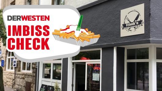 """""""Frank's Fleischermeister Grill"""" in Essen-Frohnhausen."""