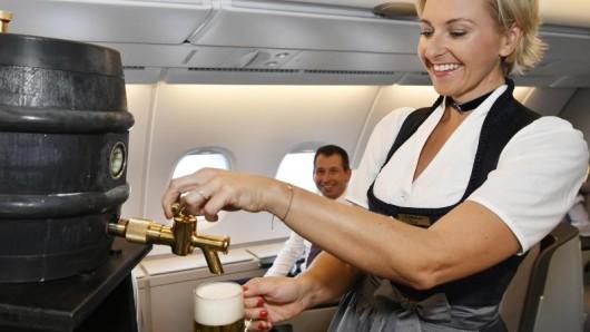 Der Trachtenflug der Lufthansa startet am 19. September nach New York, weitere folgen innerhalb Europas und nach Asien.