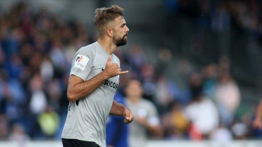 Lukas Hinterseer hat den VFL Bochum in Führung gebracht.