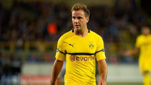 Mario Götze hat bei Borussia Dortmund derzeit einen schweren Stand.