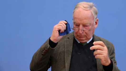 AfD-Chef Alexander Gauland findet, dass Deutschland nicht an den Gedenkfeiern zum Ende des Ersten Weltkriegs teilnehmen sollte.