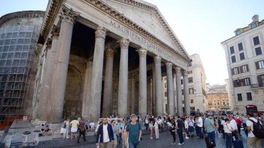 Das Pantheon in Rom wird auch künftig für Touristen keinen Entritt kosten.