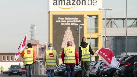 Streiks bei Amazon könnten für verspätete Weihnachtsgeschenke sorgen.