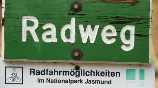 Im Nationalpark Jasmund bei Sassnitz auf der Insel Rügen soll ein neuer Ragweg entstehen.