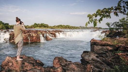 Unentdeckter Naturschatz am Sambesi: die Sioma Falls.