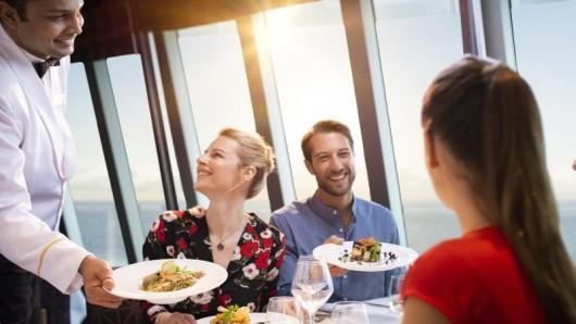 Auf Kreuzfahrten geht es viel um Genuss und gutes Essen - die Reederei Costa setzt sich dafür ein, die Lebensmittelabfälle zu reduzieren.