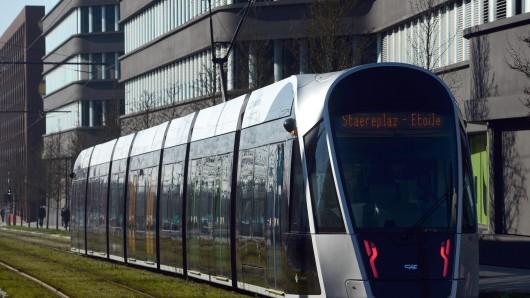 Tramfahren ist in Luxemburg bald kostenlos.
