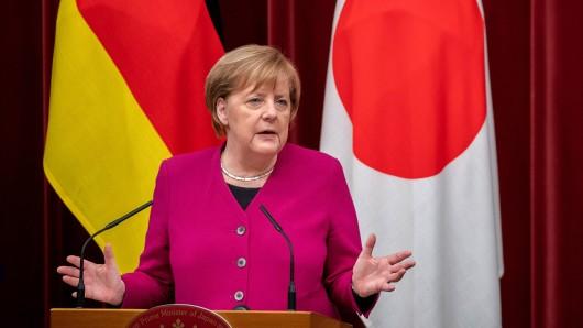 Kanzlerin Angela Merkel ist derzeit in Japan auf Staatsbesuch.
