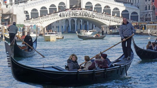 Venedig und seine Bewohner kämpfen seit Jahren gegen den Touristenansturm.