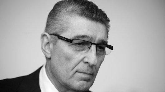 Rudi Assauer wurde im engsten Kreis beigesetzt.