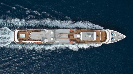 Die Le Boréal auf hoher See: Die Reederei Ponant bietet nun auf allen Kreuzfahrtschiffen der Flotte kostenloses Internet an.