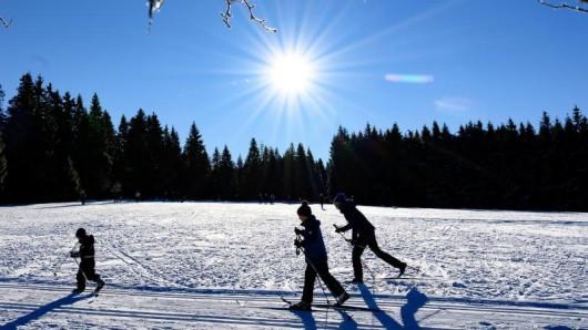 Der Harz erwartet am Wochenende frühlingshafte Temperaturen. Möglicherweise haben Wintersportler dann das Nachsehen.