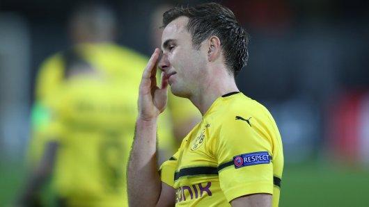 Mario Götze fehlt Borussia Dortmund wegen eines Rippenbruchs.