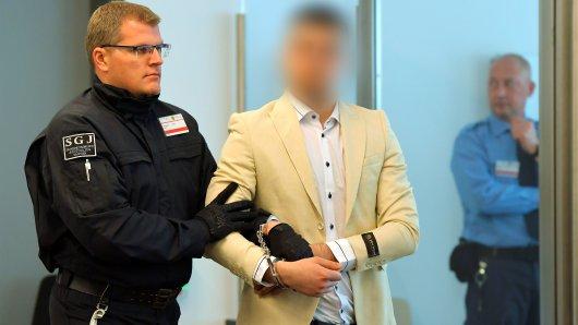 Alaa S. (23) ist angeklagt wegen der tödlichen Messerattacke.
