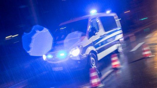 Polizei und ein Betrunkener lieferten sich eine Verfolgungsjagd.