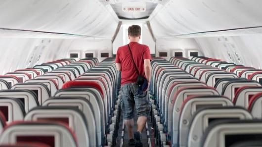Leere Reihen im Flieger sind eine absolute die Ausnahme - den Wunschsitz bekommt ein Fluggast nicht unbedingt zugewiesen.