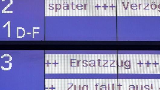 Kommen wirklich immer weniger Züge der Deutschen Bahn pünktlich an?