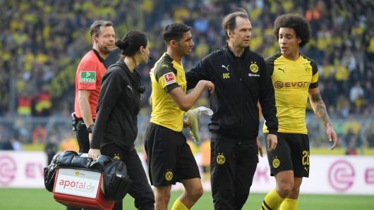 Achraf Hakimi musste gegen Wolfsburg nach Einwechselung wieder ausgewechselt werden.