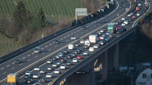 Am Wochenende sind Deutschlands Autobahnen meist frei.